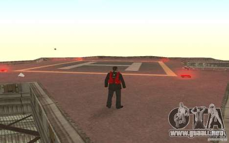 Global fashion parachute para GTA San Andreas tercera pantalla
