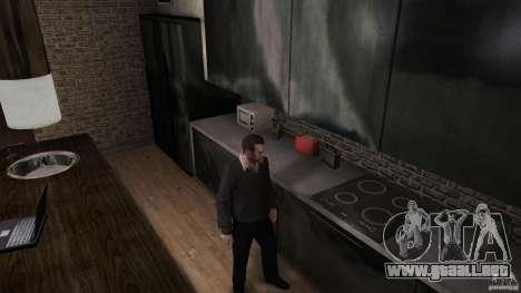 Casero suéter con cuello para GTA 4 segundos de pantalla