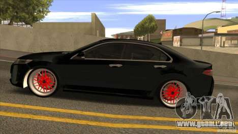 Acura TSX Doxy para GTA San Andreas left