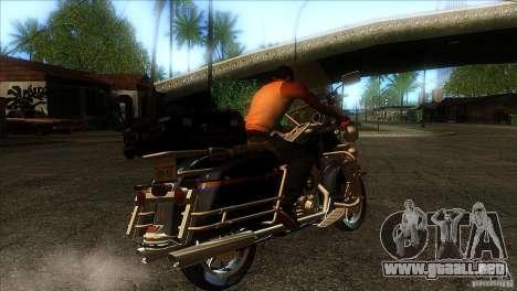 Harley Davidson para la visión correcta GTA San Andreas