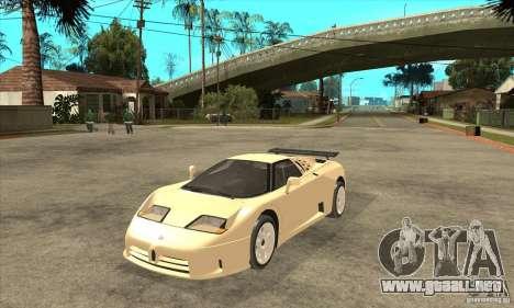 Bugatti EB110 SS 1992 para GTA San Andreas