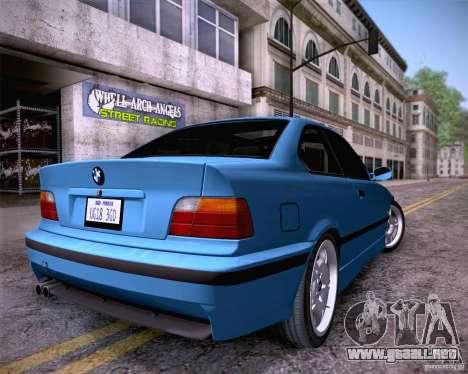BMW M3 E36 1995 para GTA San Andreas left