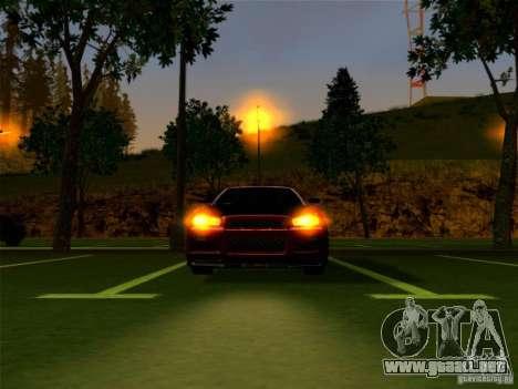 Nissan Skyline GT-R 34 para la visión correcta GTA San Andreas