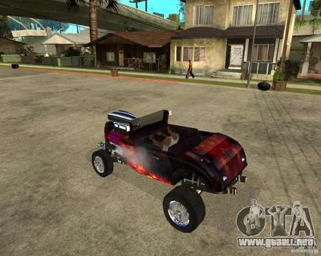 Custom Hotknife para GTA San Andreas left
