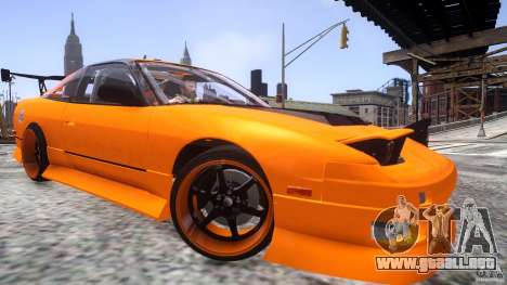Nissan 240SX Korch para GTA 4 vista interior