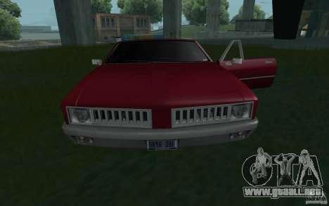 HD semental de GTA3 para la visión correcta GTA San Andreas
