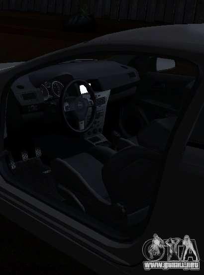 Opel Astra GSI para GTA San Andreas vista posterior izquierda