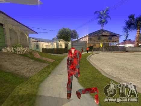 Chainsaw Massacre v. 2.0 para GTA San Andreas segunda pantalla