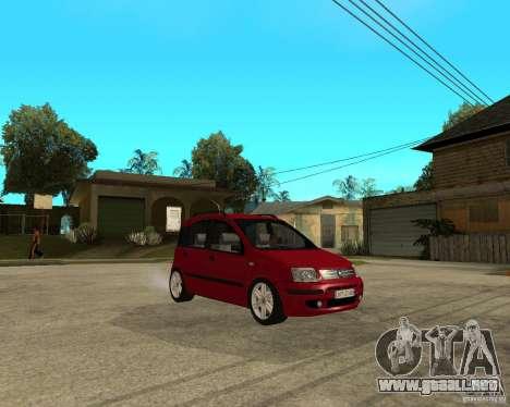2004 Fiat Panda v.2 para la visión correcta GTA San Andreas