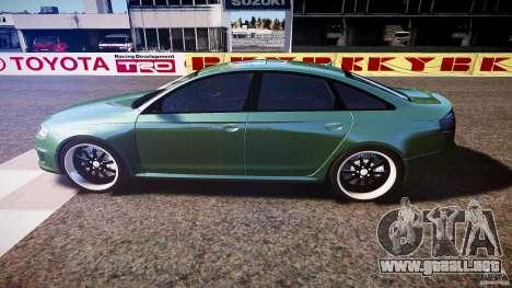 Audi RS6 2009 para GTA 4 left