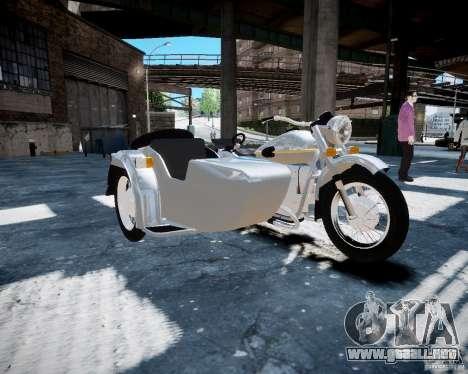 Ural m-67 para GTA 4 left