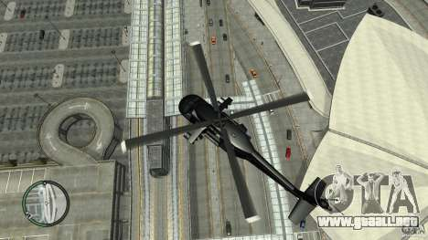U.S. Air Force (annihilator) para GTA 4 vista hacia atrás