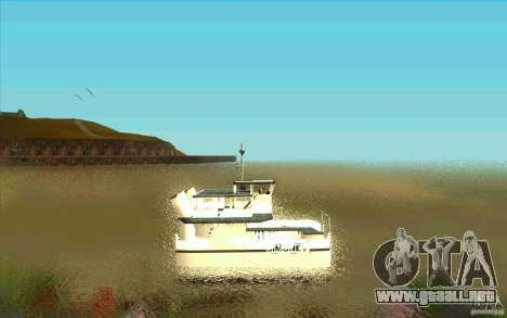 Ferry para GTA San Andreas left