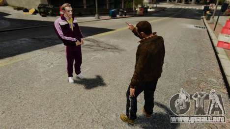 Insulto para GTA 4 tercera pantalla