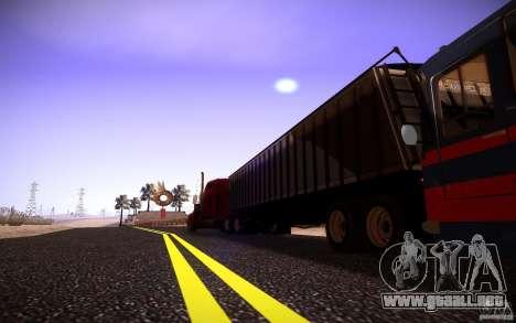 Kenworth W 900L para visión interna GTA San Andreas
