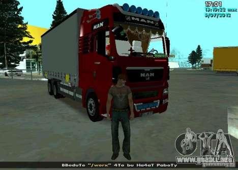 MAN TGL para la visión correcta GTA San Andreas