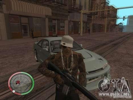 GTA IV HUD v4 by shama123 para GTA San Andreas segunda pantalla
