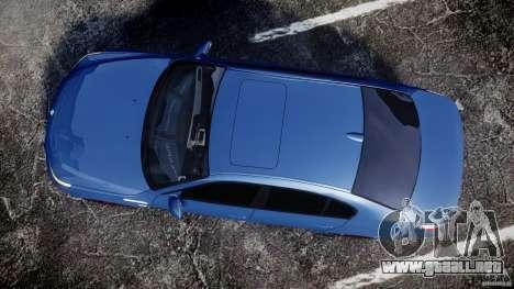 BMW M5 E60 2009 para GTA 4 visión correcta