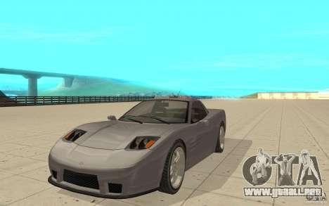 Coqueta de GTA 4 para GTA San Andreas