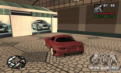Mazda MX-5 Tuning para GTA San Andreas left