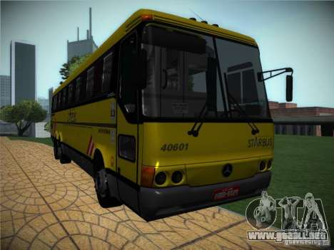 Mercedes Benz O400 Monobloco para GTA San Andreas left
