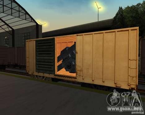 Nueva estación de ferrocarril para GTA San Andreas séptima pantalla