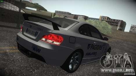 BMW 135i Coupe Road Edition para las ruedas de GTA San Andreas
