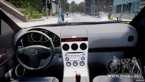 Mazda 3 2004 para GTA 4 visión correcta