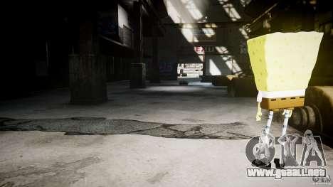 Bob esponja para GTA 4 octavo de pantalla