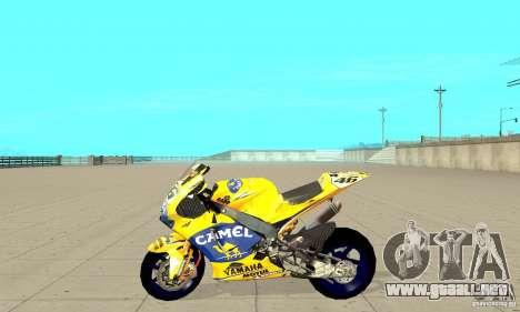 Honda Valentino Rossi Bf400 para GTA San Andreas left