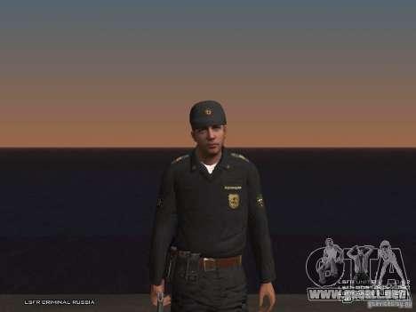 Sargento PPP para GTA San Andreas