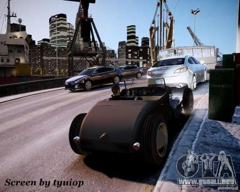 Roadster High Boy para GTA 4 vista lateral