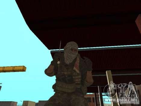 Dušman 2 de COD4MW para GTA San Andreas segunda pantalla