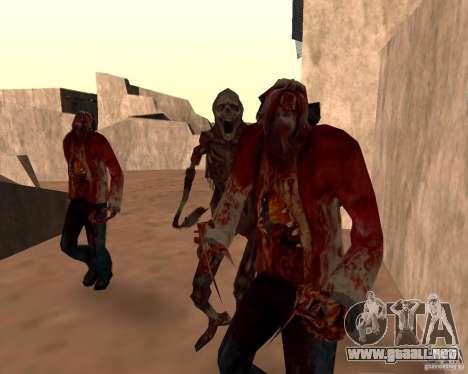Zombie Half life 2 para GTA San Andreas séptima pantalla