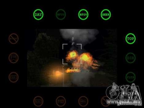 javelin and stinger mod para GTA San Andreas sucesivamente de pantalla