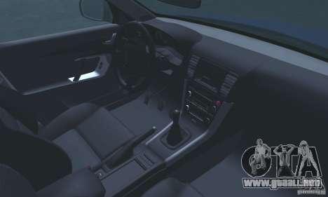 Subaru Legacy 2004 v1.0 para la vista superior GTA San Andreas