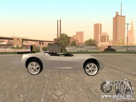 Chevrolet Corvette C7 Spyder para visión interna GTA San Andreas