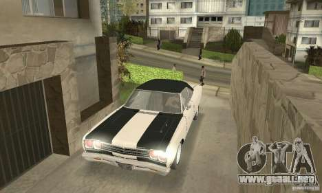Plymouth Roadrunner 383 para vista inferior GTA San Andreas
