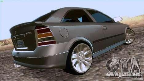 Opel Astra G 2.0 1.6V para GTA San Andreas left