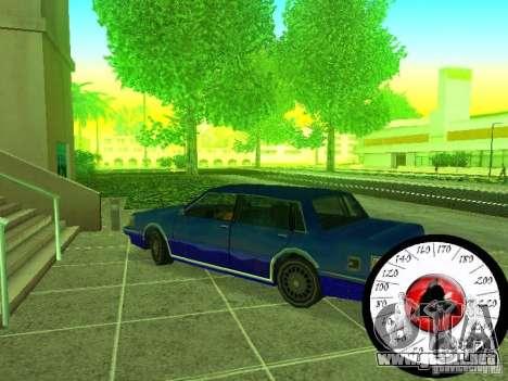 Nuevo Cpidometr para GTA San Andreas sucesivamente de pantalla