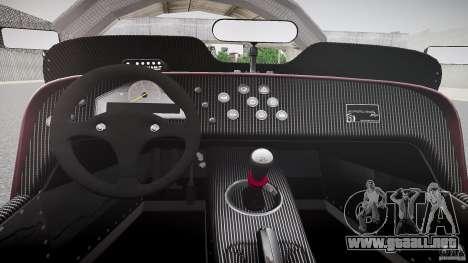 Caterham Superlight R500 [BETA] para GTA 4 vista hacia atrás