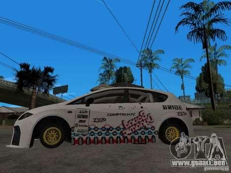 Seat Leon Cupra Bound Dynamic para GTA San Andreas left