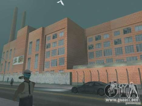 Pringles Factory para GTA San Andreas tercera pantalla