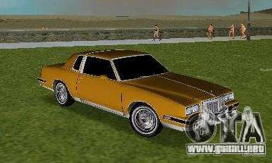 Pontiac Grand Prix para GTA Vice City vista lateral izquierdo