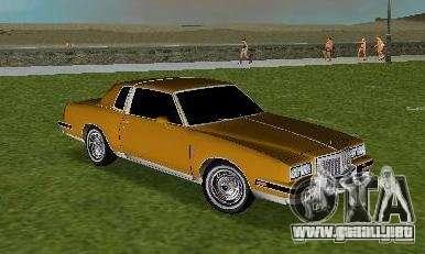 Pontiac Grand Prix para GTA Vice City vista lateral izquierdo