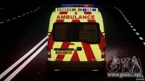 Renault Master 2007 Ambulance Scottish [ELS] para GTA 4 ruedas