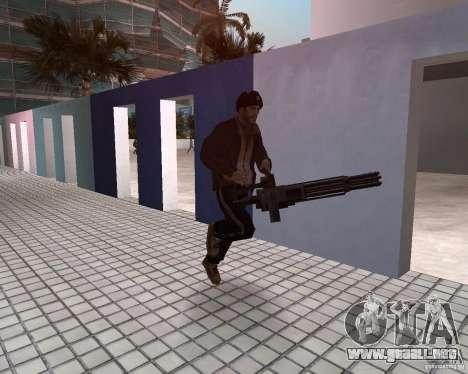 Niko Bellic en orejeras para GTA Vice City quinta pantalla