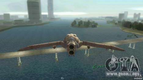 The Valley Gunship para GTA Vice City left