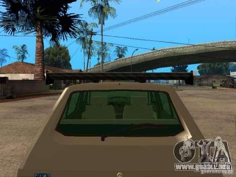 Fiat Ritmo para GTA San Andreas interior
