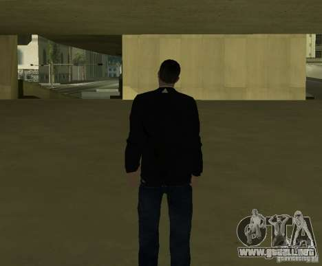 Reportero italiano para GTA San Andreas sucesivamente de pantalla